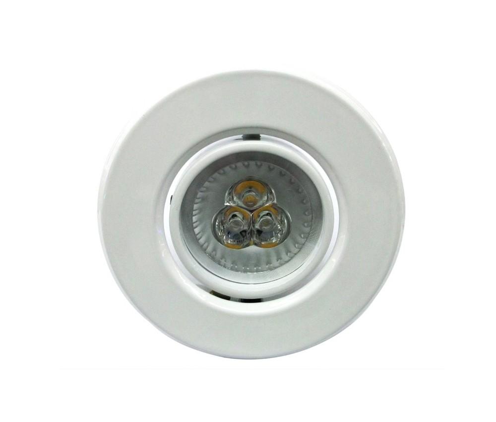 Lâmpada GU10 9W spot aluminio