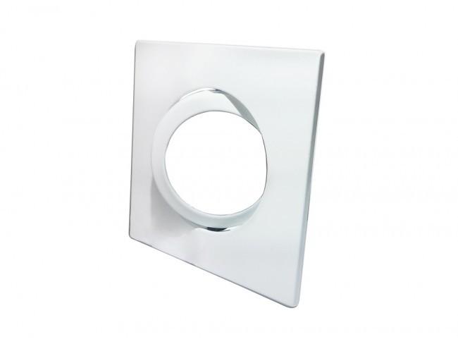 Spot Embutir Quadrado PAR 20 Sistema Click em Alumínio Fundido com Pintura Eletrostática