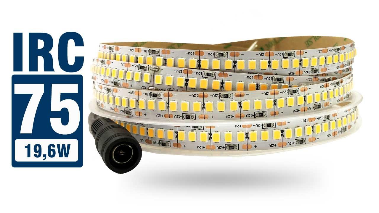 Fita LED 2835 IP20 1200 LEDs 12V 19,6W
