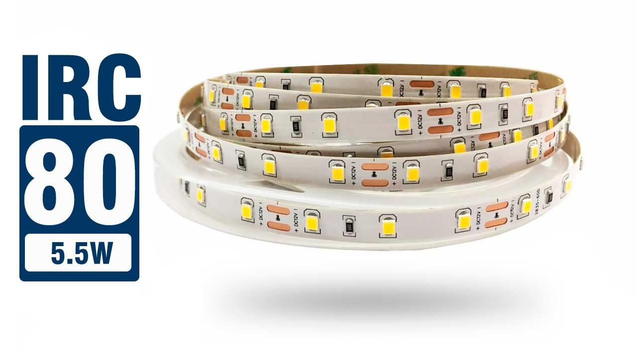 Fita LED 2835 IP20 - 5,5w/m 6.900 lúmens