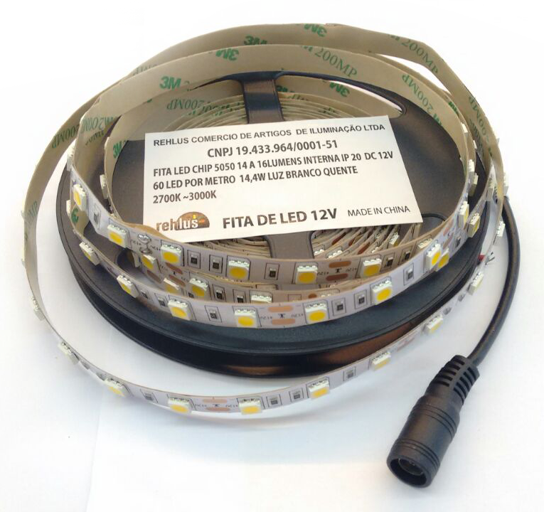 Fita Super LED 5050 IP20 (Interna)