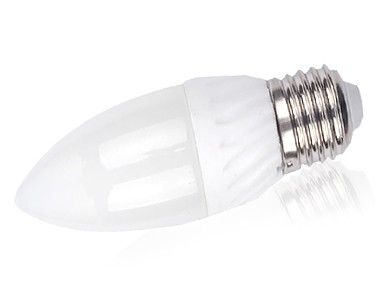 Lâmpada Vela  LEDs  BIVOLT E27 4,5W