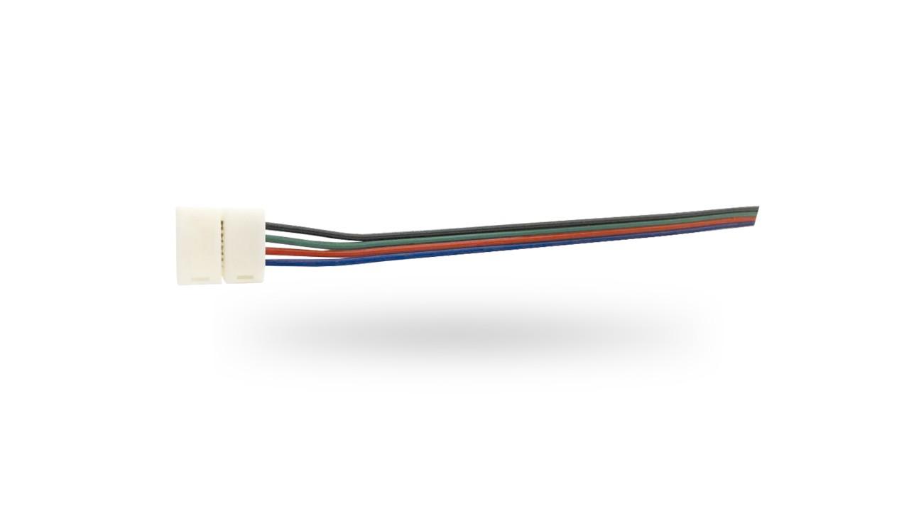Emenda com Fio P/ Fita de LED 5050 rgb