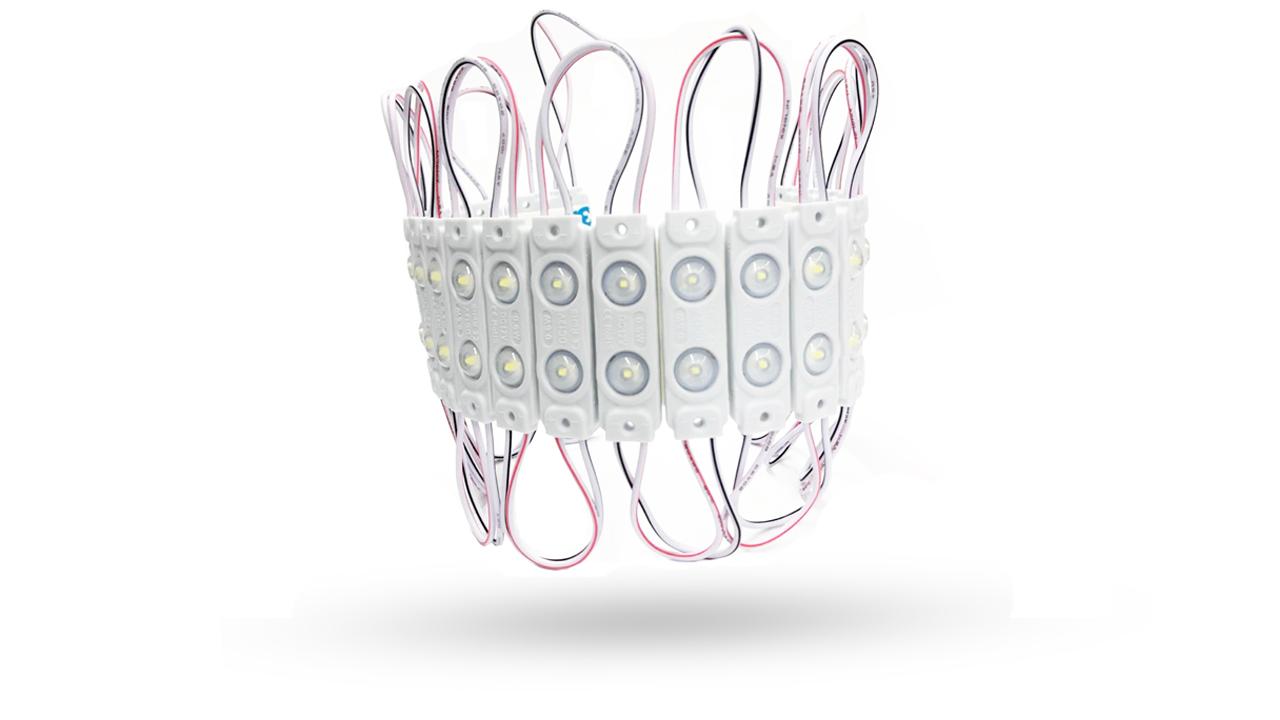 Módulo de 2 LEDS 5730 IP67 0.8W