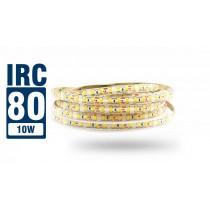 Fita LED 2835 IP65 - Rolo 5m (600Leds) - 10w/m 13.800 lúmens - IRC > 80 - Alto Brilho