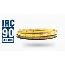 Fita LED CHIP COB 480 Leds IP20 - Rolo 5m - 10w/m - IRC > 90 - Alto Brilho