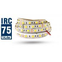 Fita LED 5050 IP20 (Interna) - Rolo 5m (300Leds) 18Lm por Led - IRC >70