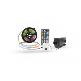 CONJ - Fita LED RGB 5050 + Fonte 6A + Controlador